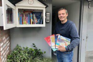 Kinderboeken in de minibieb