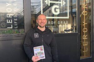 Personal trainer Leroy Grau