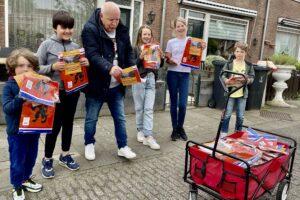 Oranjekoorts in Sterrenwijk